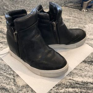 Steven madden girls wedge sneaker hightop
